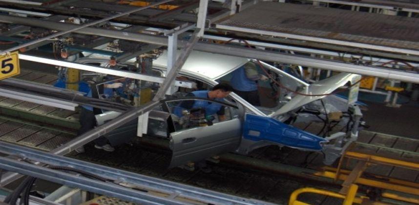 Otomotiv Sanayi Konveyörü